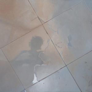 Baldosa 8. Oleo Sobre Lienzo. 91 cm x 91 cm