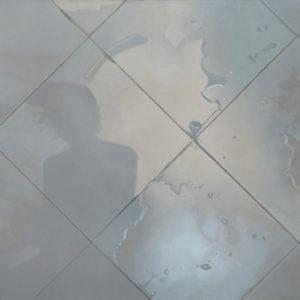 Baldosa 9. Oleo Sobre Lienzo. 91 cm x 91 cm