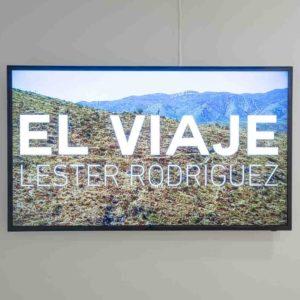 """""""El viaje"""", Léster Rodríguez, 2020,  Vídeo: color, monocanal, 04:25 minutos"""