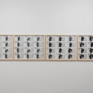 """""""Aprender de memoria"""", Léster Rodríguez, 2020, Registro de acción, Impresión sobre papel de algodón 55 x 70 cm c/u"""