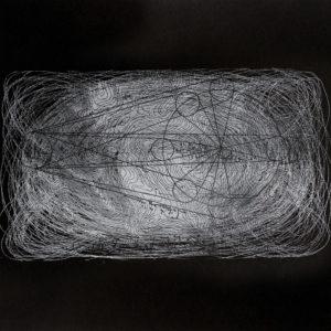 Rastros 3 - Carbónico sobre papel - 33 x 47 cm. 2017