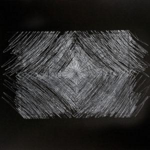 Rastros 6 - Carbónico sobre papel - 33 x 47 cm. 2017